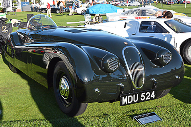 Jaguar XK 120, The Quail