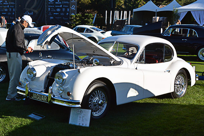 Jaguar XK 140, The Quail