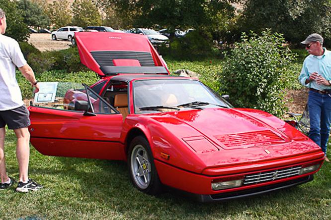 Ferrari 328 GTS, Niello Concours at Serrano