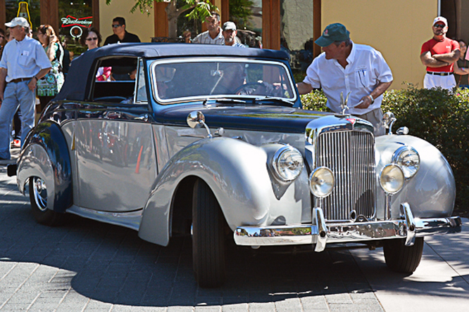 Alvis TA 21, The British Fall Classic, Morgan Hill, Ca