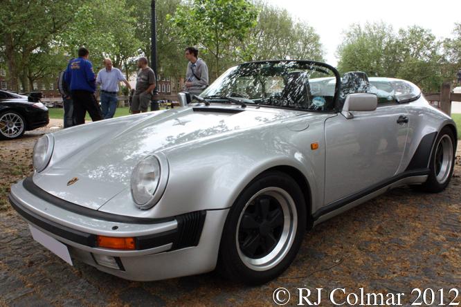 Porsche 911 Carrera 3.2 Speedster, Avenue Drivers Club, Queen Square, Bristol