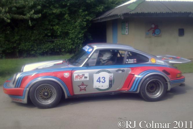Porsche 911 RSR, Tour Britannia, Castle Combe