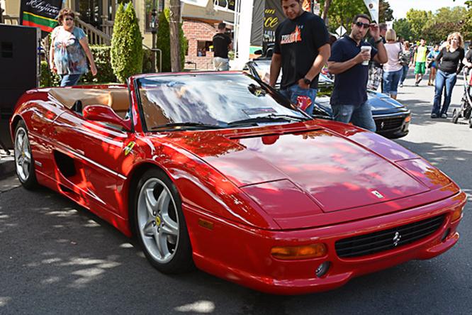 Ferrari F355 Spyder, Danville Concours d'Elegance