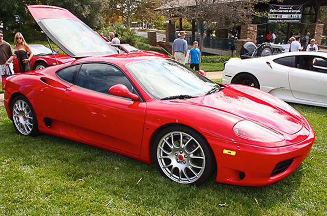 Ferrari 360, Niello Concours at Serrano