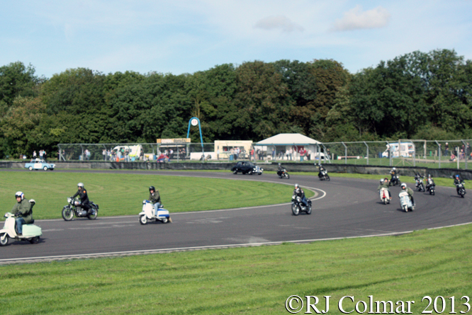 Mods, Rockers & Cops, Autumn Classic, Castle Combe