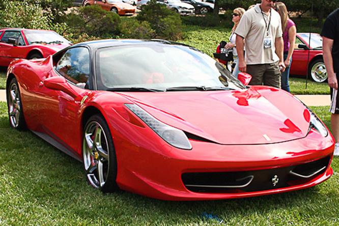 Ferrari 458 Italia, Niello Concours at Serrano
