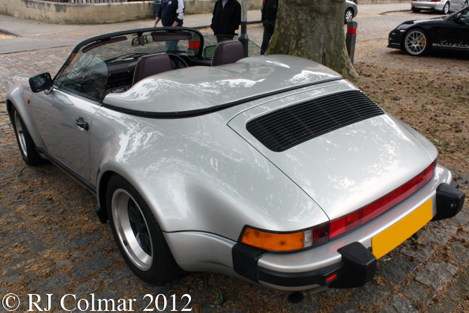 Porsche 911 Carrera 3.2 Speedster, Avenue Drivers Club, Queen Square, Bristol