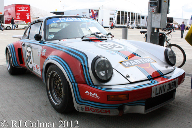 Porsche 911 RSR, Silverstone Classic