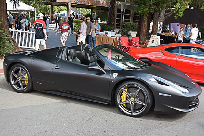 Ferrari 458 Italia Spider, Danville Concours d'Elegance