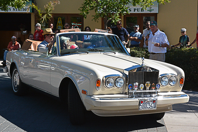 Rolls Royce Corniche, The British Fall Classic, Morgan Hill, Ca