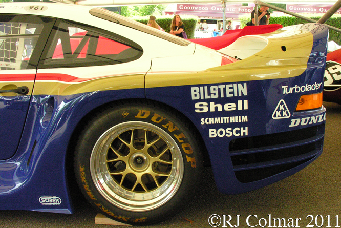 Porsche 961, Goodwood Festival of Speed