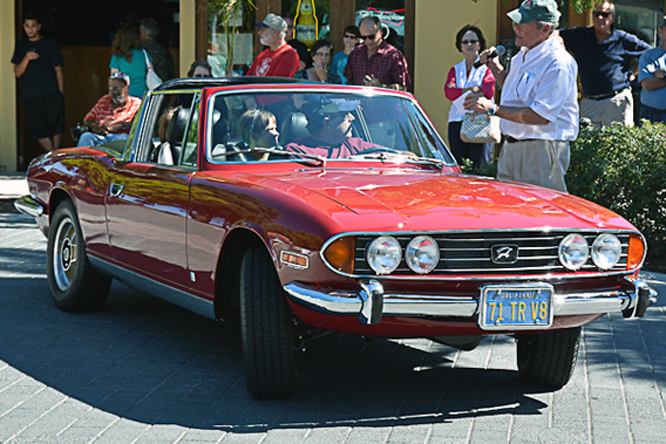 Triumph Stag, The British Fall Classic, Morgan Hill, Ca