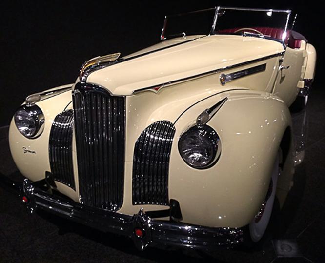 Packard 120 Darrin Convertible Victoria, Blackhawk Museum
