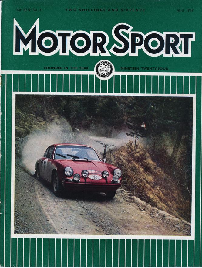 Porsche 911T, MotorSport Front Cover