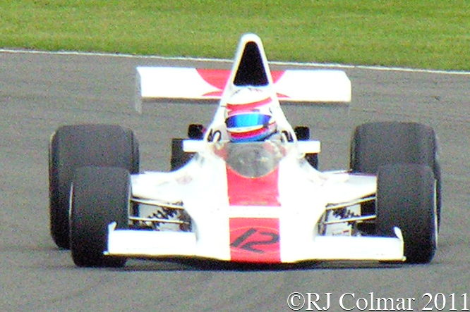 Shadow Cosworth DN1, Silverstone Classic