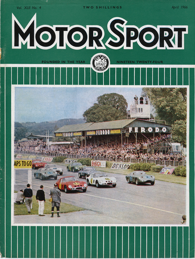 MotorSport, Goodwood, April 1966