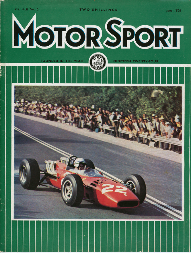 MotorSport, Surtess, Ferrari 312, Siracusa, June 1966