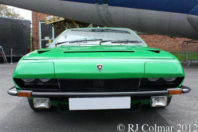 Lamborghini Jarama S. Auto Italia, Brooklands