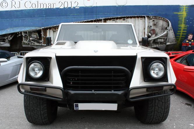 Lamborghini LM002, Auto Italia, Brooklands