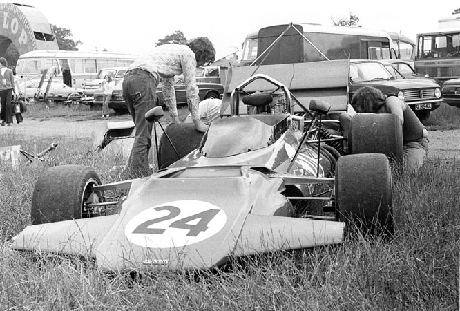 Connew Chevrolet PC1, Mallory Park