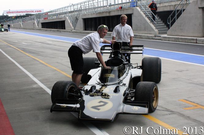 Lotus Cosworth 72E, Silverstone Classic