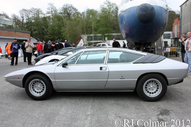 Lamborghini Urraco, Auto Italia, Brooklands