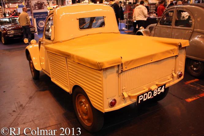 Citroën 2CV SAP Pickup, Classic Motor Show, NEC, Birmingham