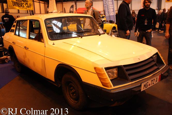 Anadol A8, Classic Motor Show, NEC,  Birmingham
