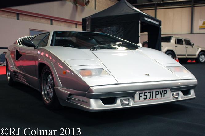 Lamborghini 25th Anniversary Countach , Classic Motor Show,