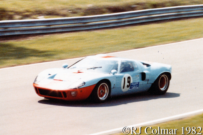 Colvill, Ford GT40, Brands Hatch