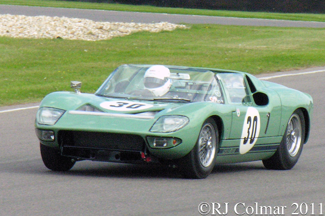 Newall, Ford GT Roadster, Goodwood Revival