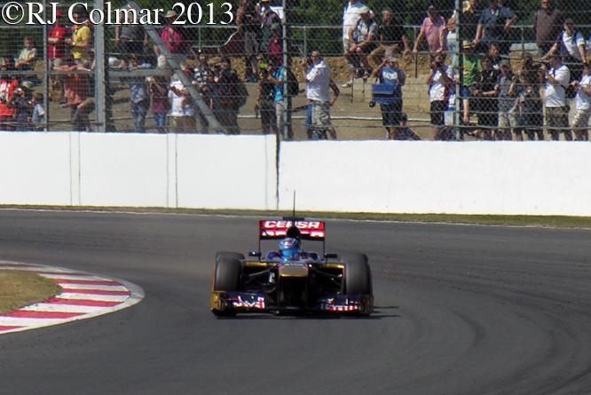Kvyat, Toro Rosso STR8, Young Driver Test, Silverstone