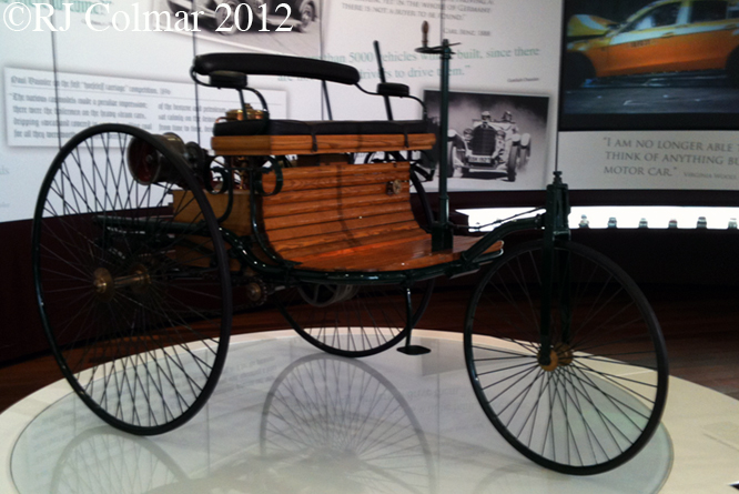Benz Patent Motorwagen, Mercedes Benz World, Brooklands
