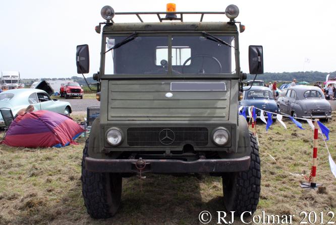 Mercedes Benz Unimog 406, Summer Classics, Easter Compton