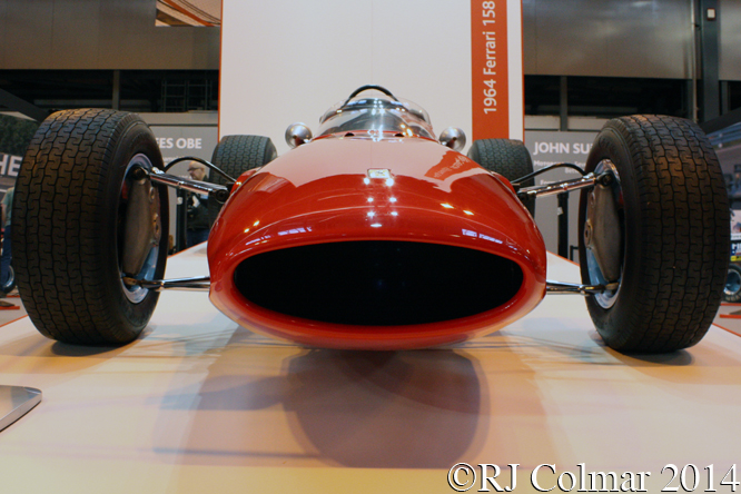 Ferrari 158, Autosport International, NEC Birmingham