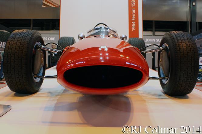 Ferrari 158, Autosport International, NEC Birmingham