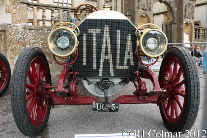 ITALA 35/45hp, Classics at the Castle, Sherborne  Castle