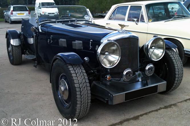 Bentley Mk VI Special, Blue Velvet, Bristol Classic Car Show, Shepton Mallet