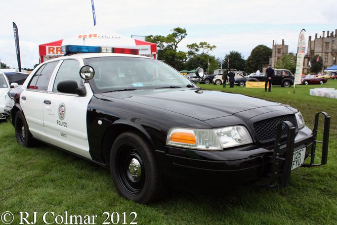 Ford Crown Victoria Police Interceptor, Classics At The Castle, Sherborne Castle
