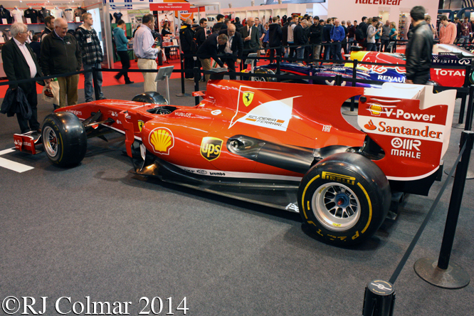 Ferrari F10, Autosport International, NEC, Birmingham