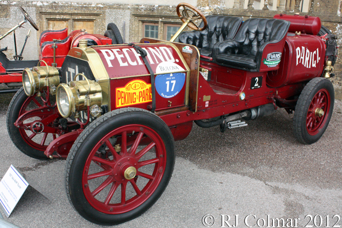 ITALA 35/45, Classics at the Castle, Sherborne  Castle