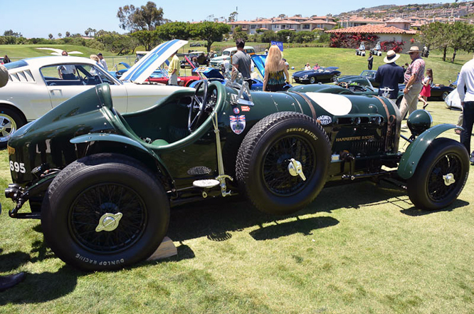 Bentley 3/8 Litre, Hawkeye Special, Dana Point, C d'E