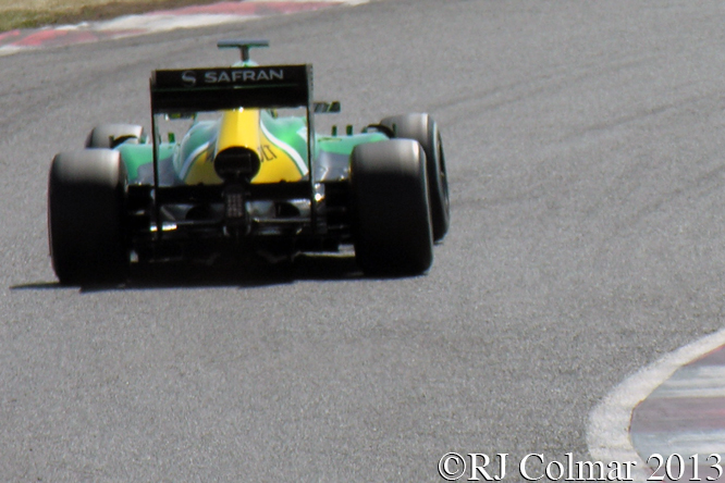Caterham Renault CT03, Young Driver Test, Silverstone