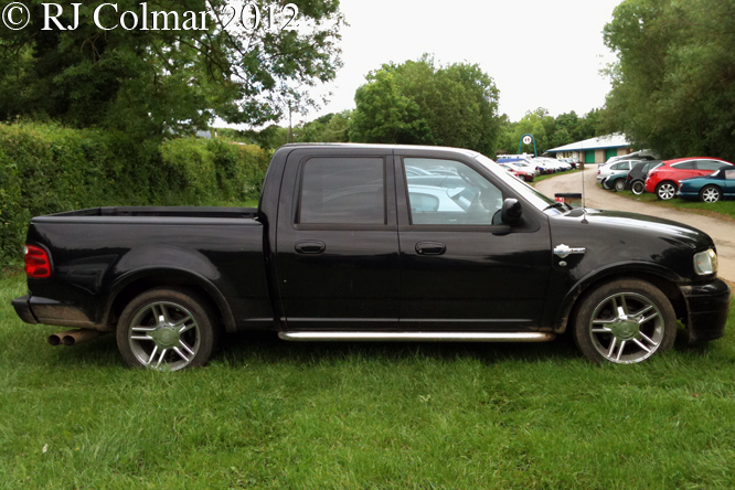 Ford F150 Supercharged Harley Davidson Edition, Castle Combe
