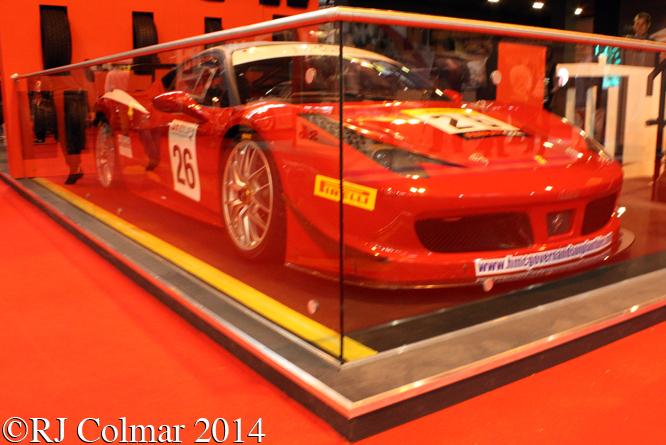 Ferrari 458 Challenge GTC, Autosport International, NEC,