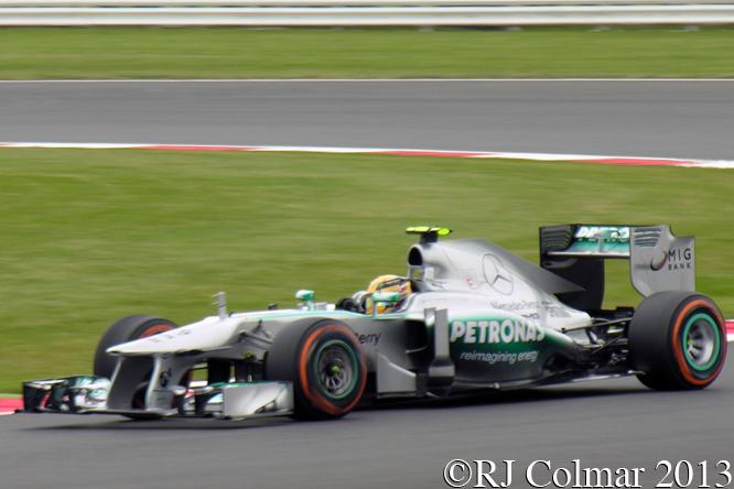 Mercedes F1 W04, Hamilton. British Grand Prix, Silverstone