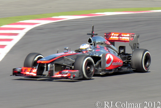 McLaren Mercedes MP4-28, Paffett, British GP P2, Silverstone