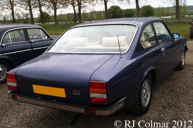 Bristol Brigand, Bristol Classic Car Show, Shepton Mallet