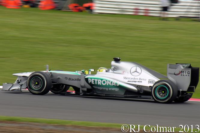 Mercedes F1 W04, Rosberg, British Grand Prix, Silverstone