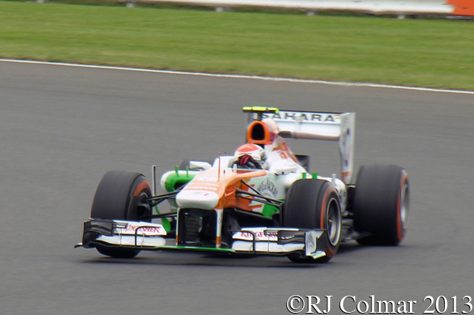 Force India Mercedes VJM06, Sutil, British Grand Prix, P2, Silverstone